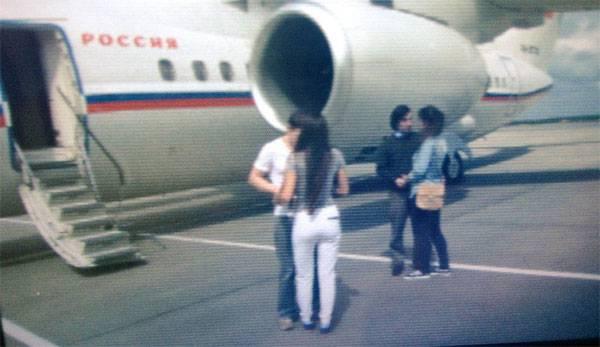 Alexander Alexandrov and Yevgeny Yerofeyev arrived in Moscow, Nadezhda Savchenko - to Kiev. First frames