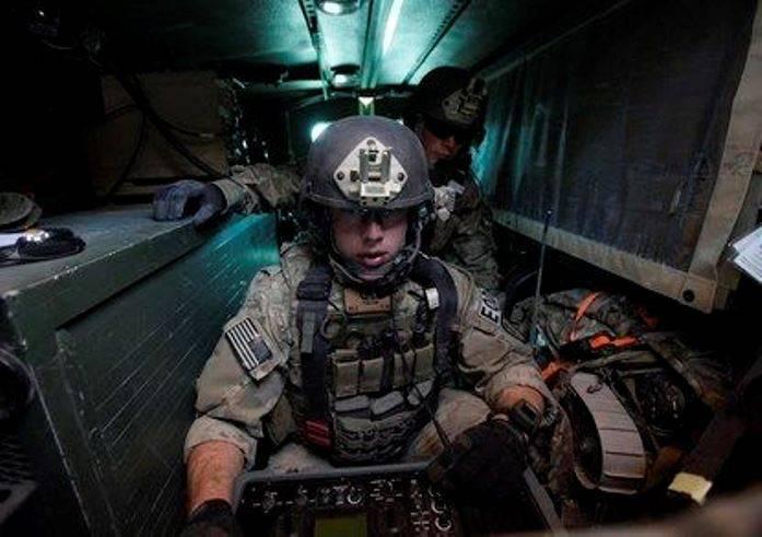 Les Marines américains ont débarqué en Syrie près de la ville de Haseke