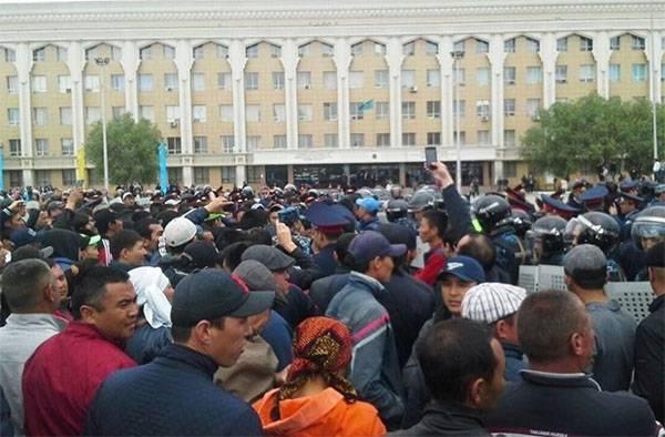El virus Maidan en Kazajstán se propaga a través del Código de Tierras?