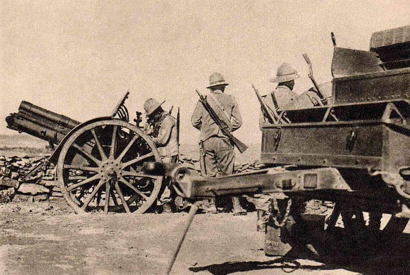 İtalyan silahlı kuvvetleri Etiyopya'nın işgalinin başlangıcına kadar