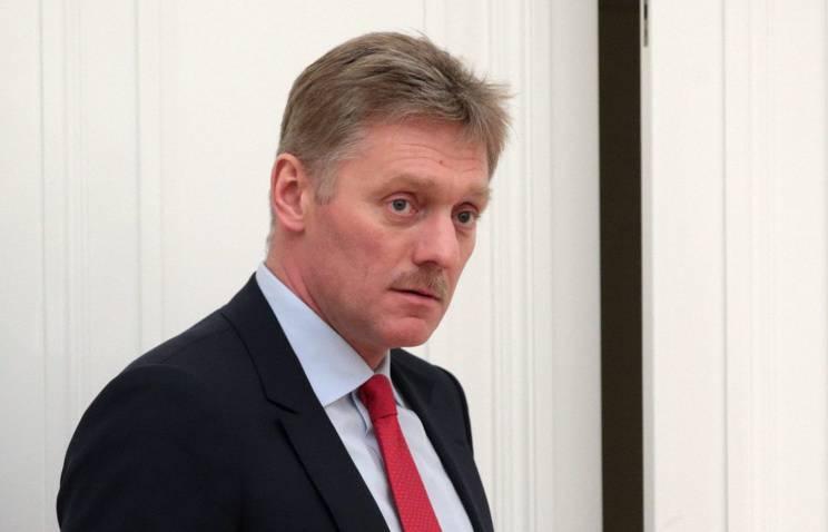 Dmitry Peskov kommentierte Poroshenkos Worte, die Ukraine werde Donbass und die Krim zurückgeben