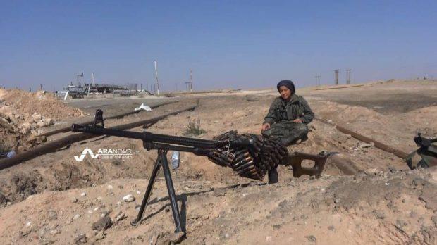 L'ISIS nella RAS riesce a combattere allo stesso tempo contro l'esercito governativo, i curdi e Jebhat al-Nusra