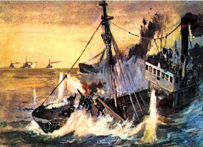 ノーザンフリートのバトルトロール船