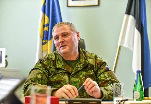 """Der estnische Oberbefehlshaber erklärte, der """"russische Opportunismus"""" bedrohe die baltischen Staaten und werde die NATO um den Einsatz patriotischer Luftverteidigungssysteme bitten"""