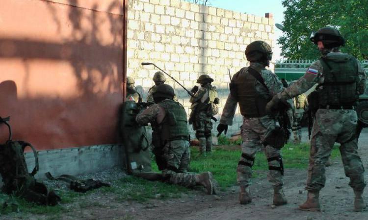 En Ingouchie, détruit les bandits associés à l'IG