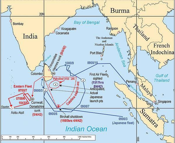 第二次世界大战中的甲板飞机:从塔兰托到中途岛。 第二部分