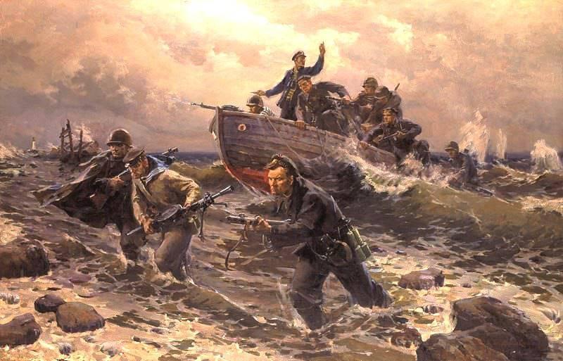 Kampf gegen die sowjetische Landung im Rücken des Feindes während des Krieges
