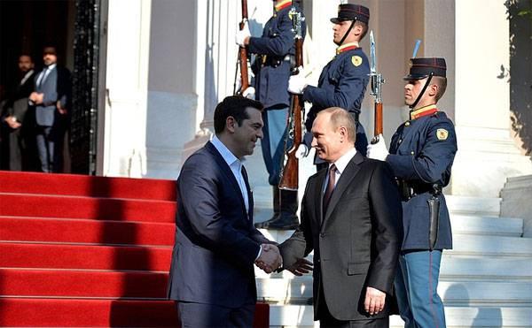 Wladimir Putin sprach in Griechenland über die Vergeltungsmaßnahmen Russlands für den Einsatz des europäischen Raketenabwehrsegments der USA in Rumänien und Polen