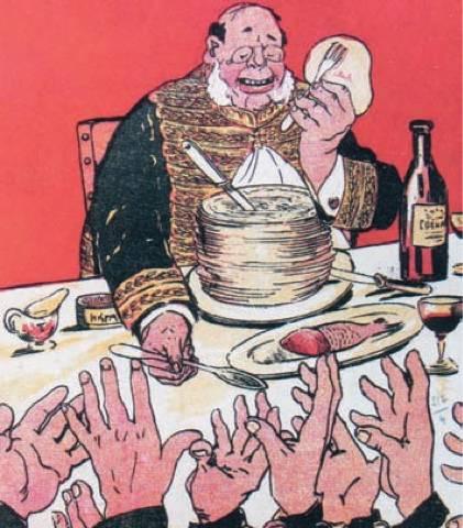 Por quanto tempo o homem alimentará os generais?