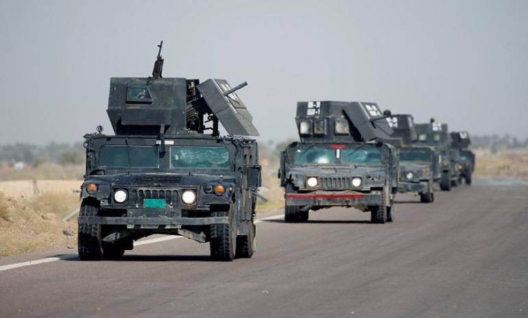 Die irakische Armee besiegte die Stadt Karma vor den Islamisten