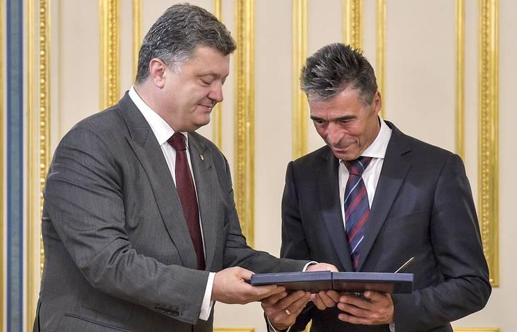 라스무센 (Rasmussen) 우크라이나 대통령에 대한 프리랜서 고문은 EU에 반 러시아 제재를 연장 할 필요성을 확신시킨다.