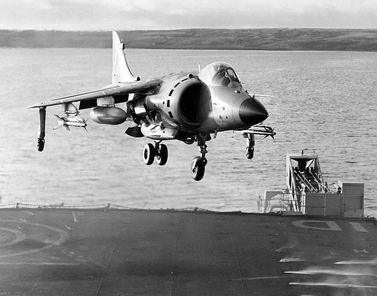 """Harriers"" en batalla: Falklands conflict 1982 (parte de 6)"