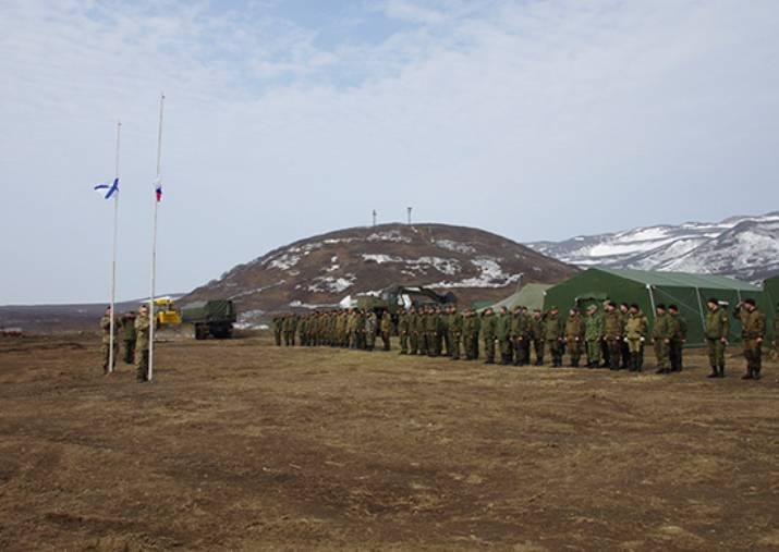 Monumento ai militari sovietici restaurato su Matua