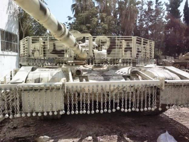 叙利亚T-82变得更加安全