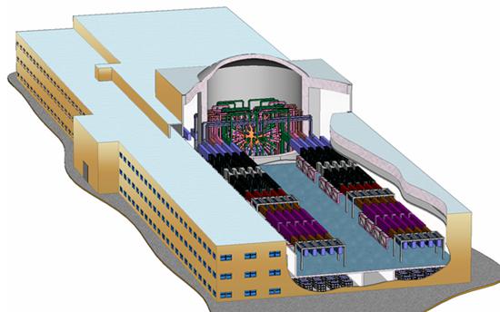 In 2017, la Russia lancerà la prima fase della macchina laser a doppio scopo più potente del mondo