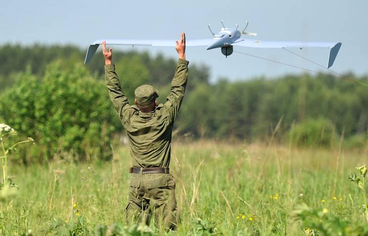 Mídia de massa: um drone-brander está sendo criado na Federação Russa