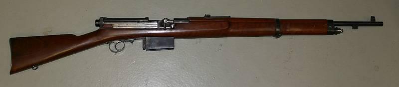 Rifle de carga automática M. Mondragona (México)