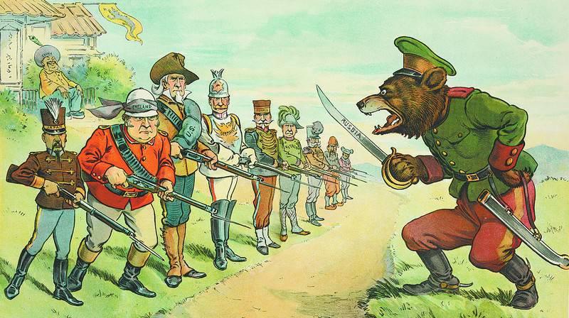 Russophobia,北约和美国(Vaševěc,捷克共和国)