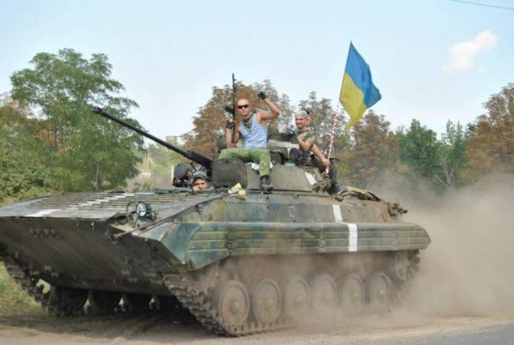 OSCEのオブザーバーは、ドンバスの境界線に隣接する地域に軍事装備を記録しました