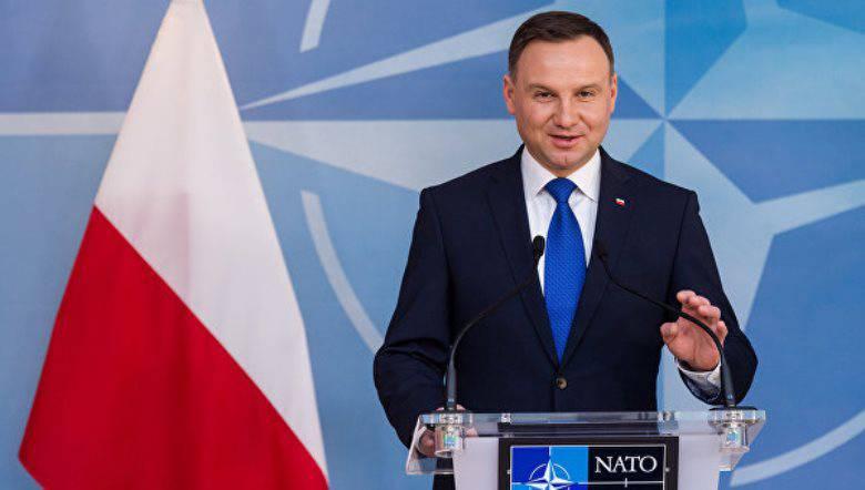 """Duda: Putin'in Polonya'da inşa edilen füze savunma üssünün Rusya Federasyonu'na yönelik tehdidi hakkındaki sözleri """"biraz ritüel"""""""