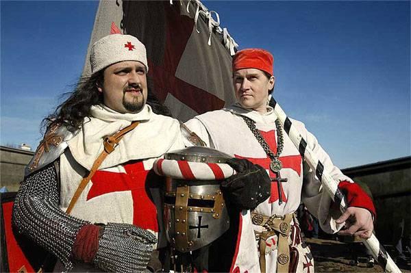 Духовно-рыцарские ордена: тамплиеры