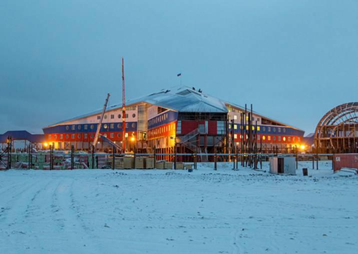 Die aktive Lieferung von Fracht an Militärstandorte in der Arktis hat begonnen