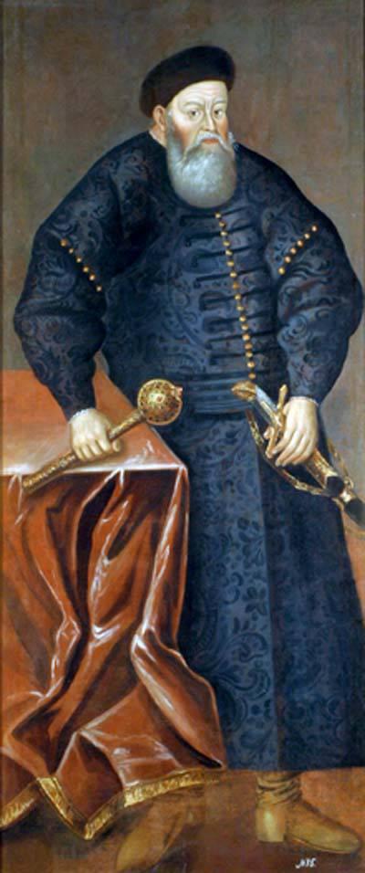 Die litauisch-polnisch-ukrainische Brigade wurde nach Prinz Konstantin Ostrozhsky benannt, der im 16. Jahrhundert wiederholt von russischen Truppen geschlagen wurde.