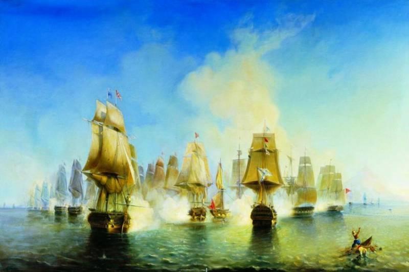 Вице-адмирал Сенявин и солдат Ефимов: морское братство как главное оружие в бою