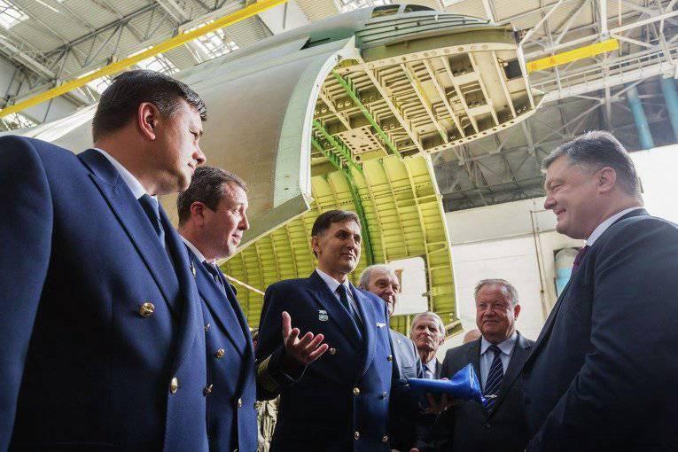 """Poroshenko """"vio la oportunidad"""" de construir otra """"Mriya"""""""