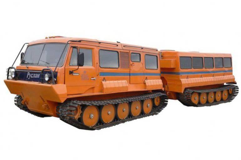 Evmenov: En hiver, C-400 et des véhicules transportant la neige et les marécages ont été livrés à la flotte du Nord