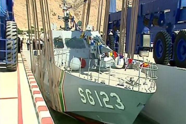Barca missilistica lanciata in Turkmenistan