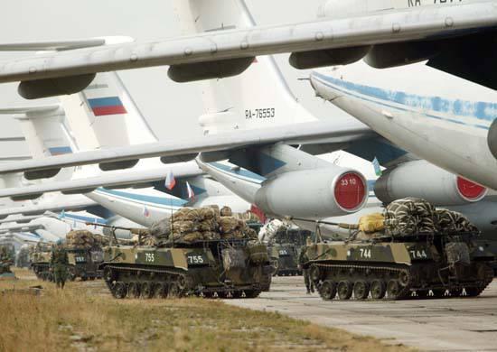 85-Jahrestag der Military Transport Aviation VKS RF