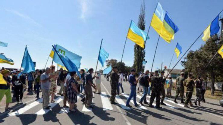 通过封锁克里米亚,乌克兰阻止了经济。 在基辅,谈论解除半岛封锁的必要性
