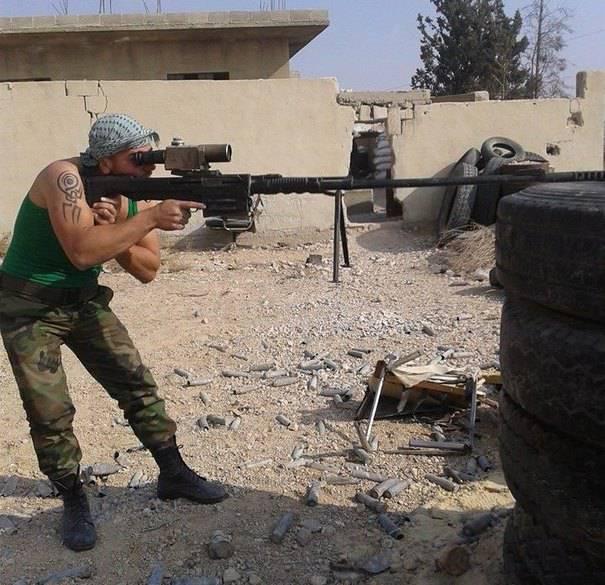 Em Tula, desenvolver um novo calibre rifle sniper de grande calibre 14,5 mm