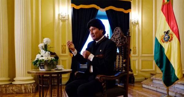 बोलीविया के राष्ट्रपति ने रूसी संघ के अभिन्न अंग के रूप में क्रीमिया की संभावित पहचान की घोषणा की
