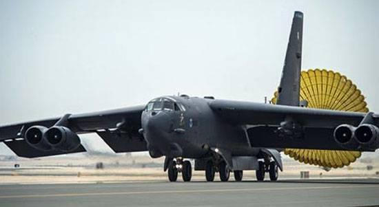 その日の米国の軍用機との3番目の事件:ヨーロッパの前に、戦略爆撃機B-52は飛ぶことができませんでした