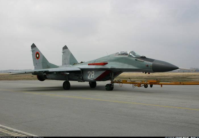 """Bulgarien wird """"NATO-Standards einhalten"""" und MiG-29 durch """"gebrauchte"""" Flugzeuge westlicher Hersteller ersetzen"""
