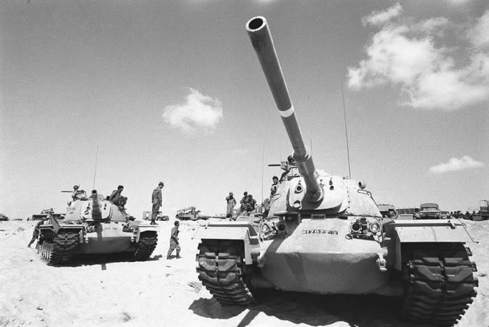 """Kubinka에있는 이스라엘 탱크 """"Magah-3""""의 역사"""