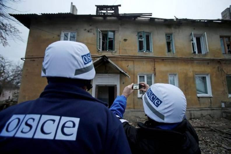 Moscow is ready to agree on the armament of part of the OSCE monitors in the Donbass