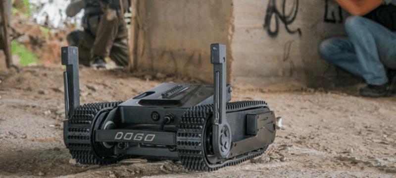 DOGO戦術戦闘ロボット