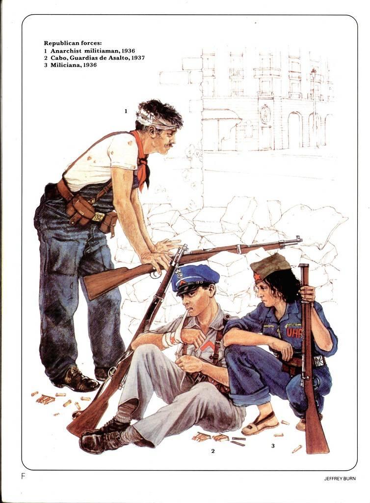 Танки в гражданской войне в Испании 1936 – 1938 гг. (часть 3)