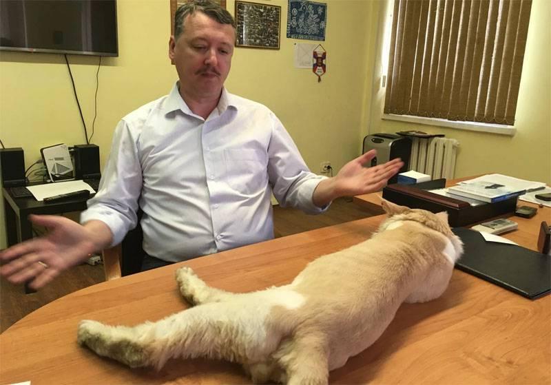 """斯特拉科夫(吉尔金)接受了""""卫报""""的采访,宣布他对俄罗斯总统弗拉基米尔·普京感到失望。"""