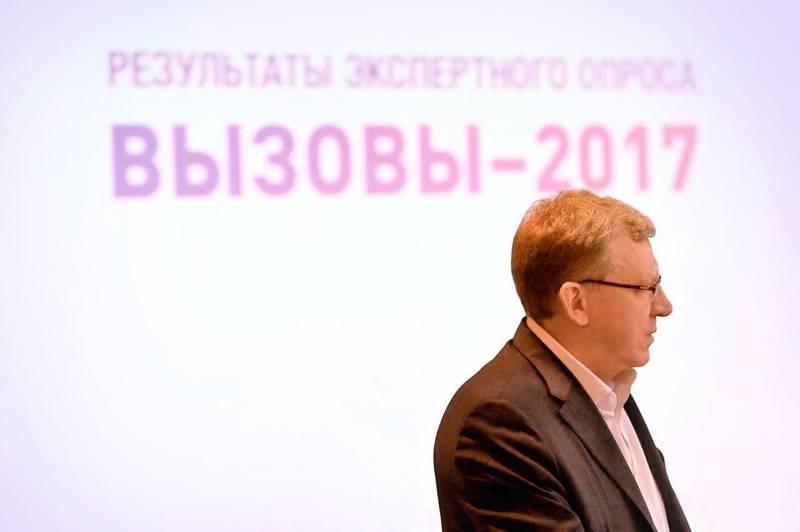 Alexei Kudrin dijo que, junto con sus colegas, está trabajando en un programa para el desarrollo económico de Rusia encargado por el presidente.