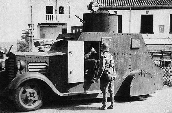 Tanques republicanos y nacionalistas en la guerra civil 1936 - 1938 (parte de 2)