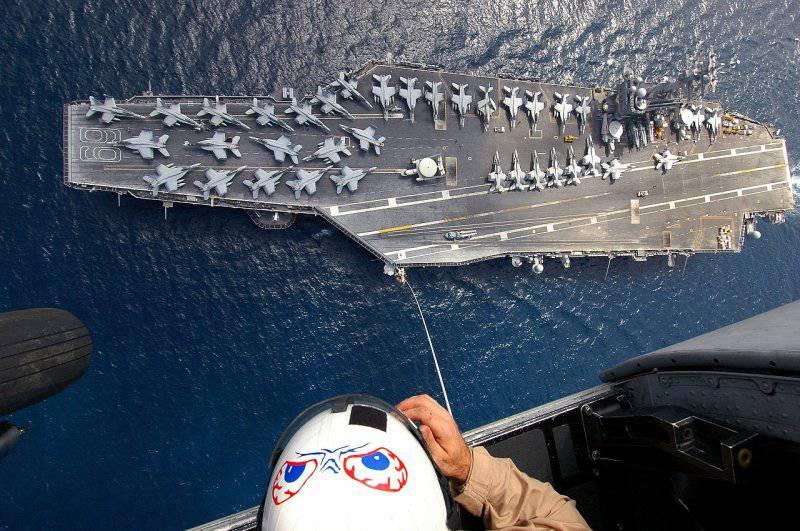 Medya: Amerika ilk defa 2012 r ile uçak gemilerinin yarısından fazlasını seferber etti