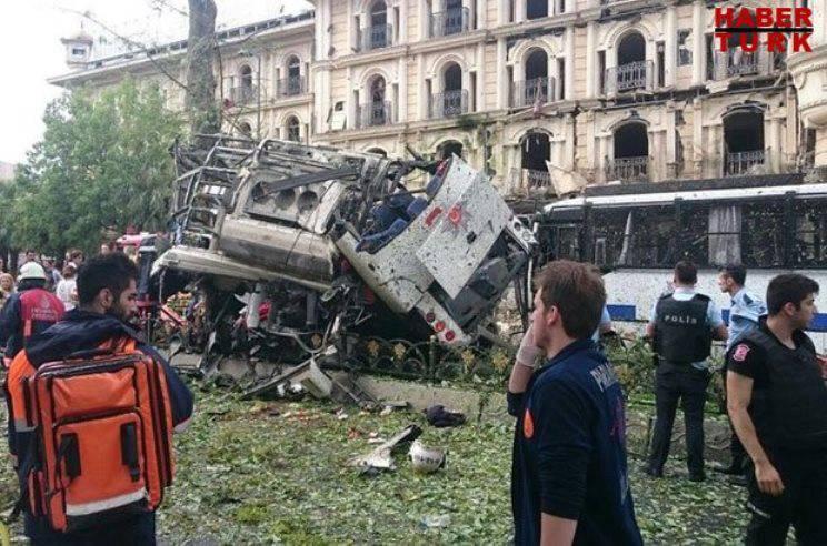 इस्तांबुल में एक नया विस्फोट, पीड़ित हैं