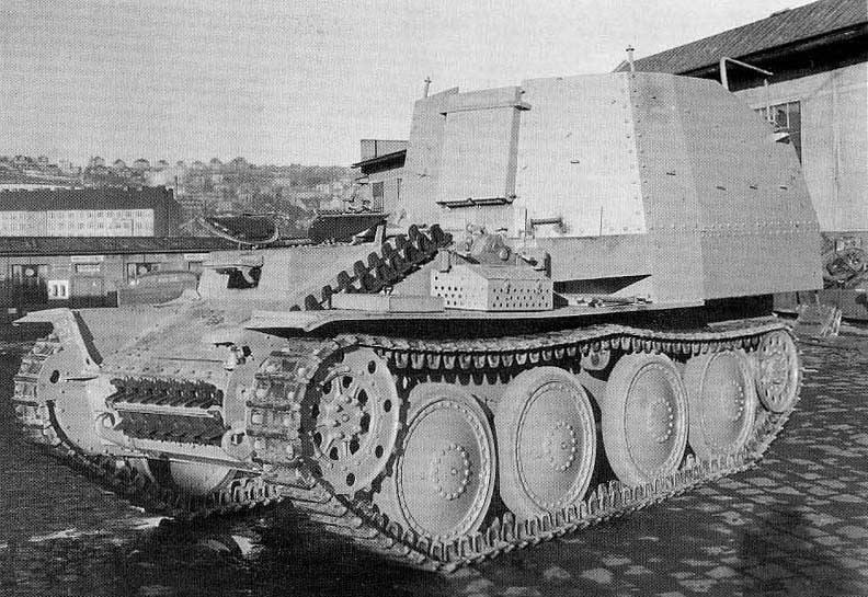 Munitionspanzer 38 (t) Ausf.K Munizioni Transporter (Germania)