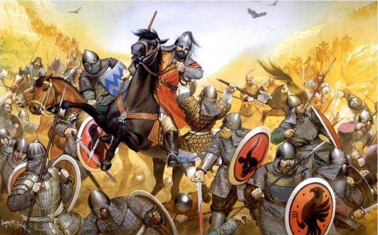 Figura 1. Batalha de Poitiers