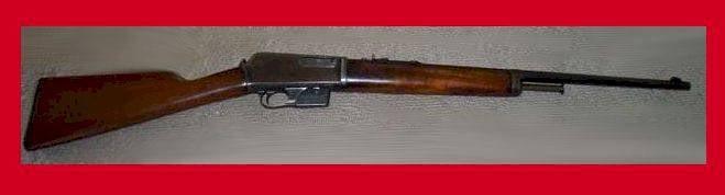 自装步枪Winchester Model 1905(美国)