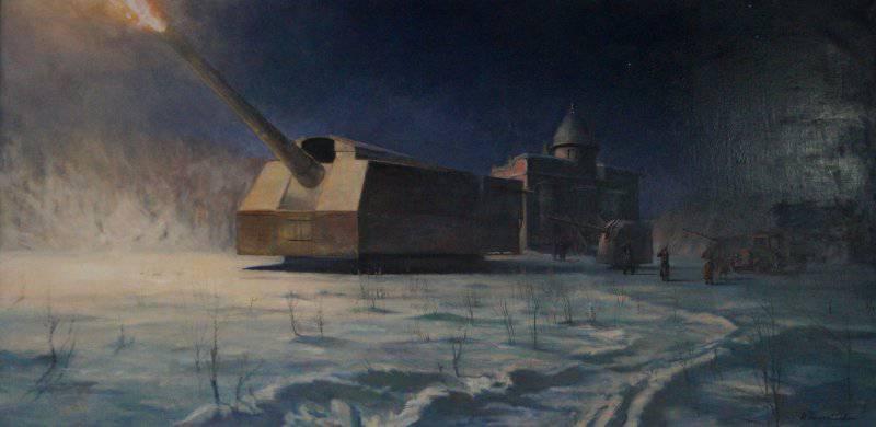 सोवियत संघ के मुख्य कैलिबर: Rzhevsky परीक्षण स्थल पर 406-mm बंदूक